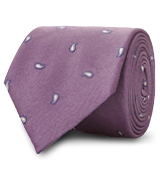 The Purple Hensley Paisley Tie