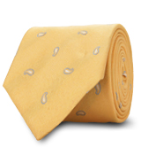 The Yellow Hensley Paisley Tie
