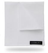 The White Linen Pocket Square