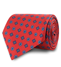 The Red Waldburg Tie