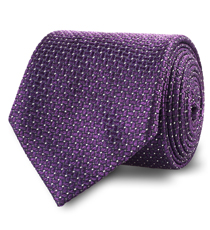 The Purple Mayfield Silk Tie