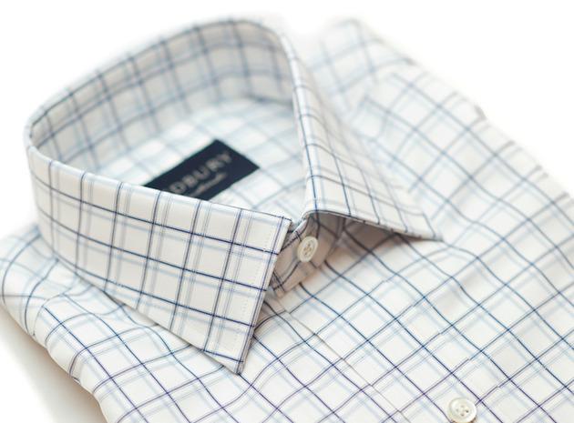 The Atherton 120 Slim Fit collar