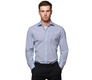 The Blue Townsend Tattersall Slim Fit modelcrop