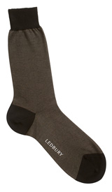 The Black and Grey Darden Sock