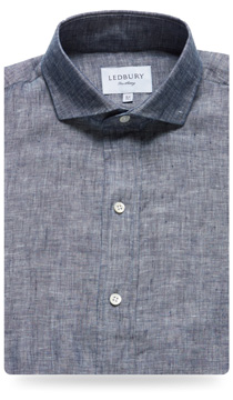 The Wesley Linen Chambray Slim Fit