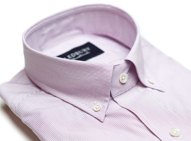 The Purple Micro-Check  collar