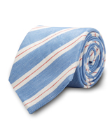 The Light Blue Ackerley Twill Tie