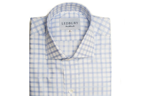 The Adams Box Check shirt