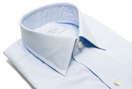 The Blue Thin Stripe 120 collar
