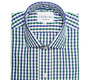 The Blue and Green Starks Gingham shirt