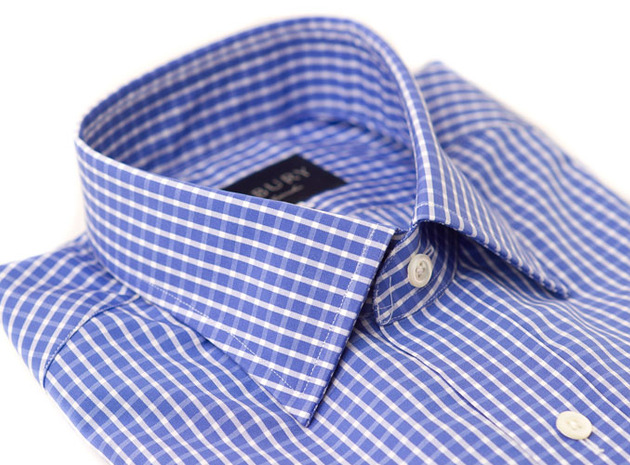 The Stanton Gingham collar