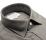 The Forbes Brushed Twill Slim Fit collar
