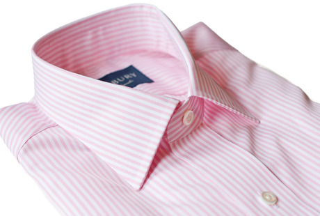 The Pink Bengal Worker Slim Fit collar