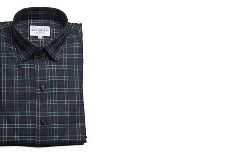 The Black Watch Roosevelt Slim Fit shirt
