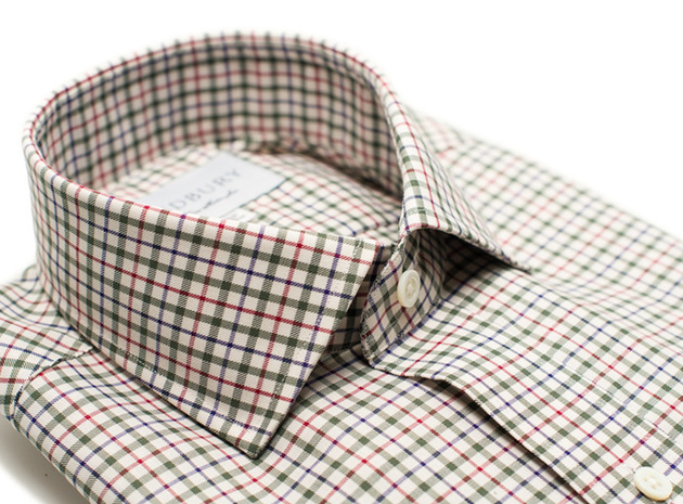 The Green and Red Madison Twill collar