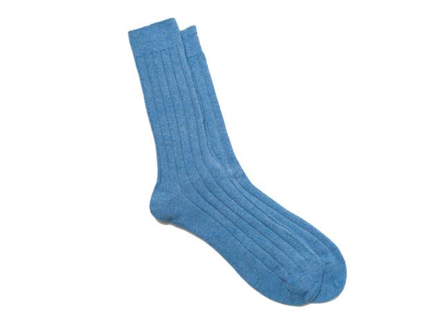 The Blue Alastair Sock collar
