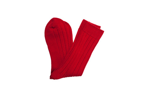 The Red Alastair Sock shirt