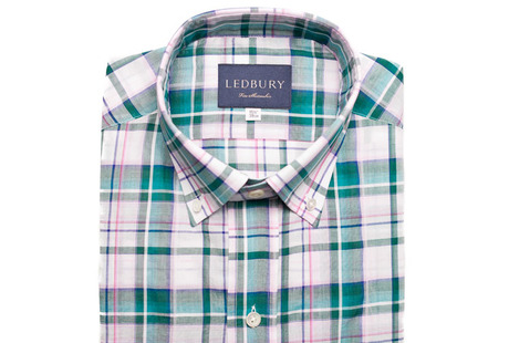 The Green Crawford Plaid Regular shirt