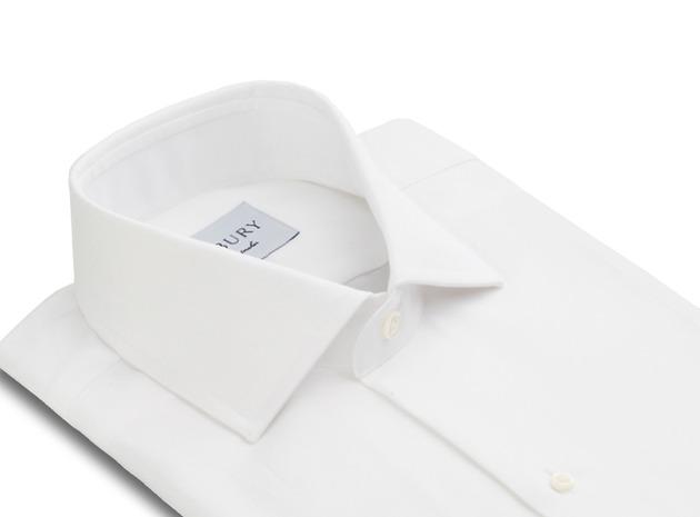 The Tuxedo Shirt collar