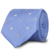 The Blue Lennox Basketweave Tie