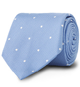 The Light Blue Newton Dot Tie