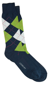 The Blue Layton Argyle Sock