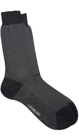 The Grey Herringbone Sock