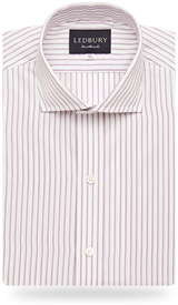 The Poplin Stripe 120 Slim Fit