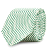 The Green Wilde Houndstooth Tie