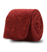The Red Upton Knit Tie