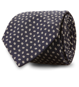 The Navy Langston Tie